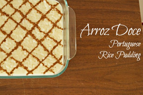 Arroz Doce (Portuguese Rice Pudding) | Egg Rolls & Sauce