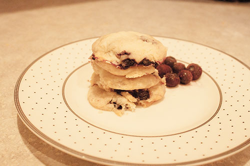 Blueberry Muffin Cookies 1