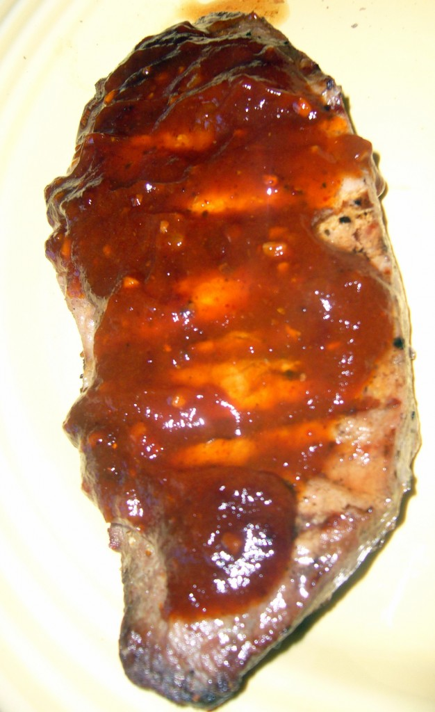 Steak & Amazing BBQ Sauce